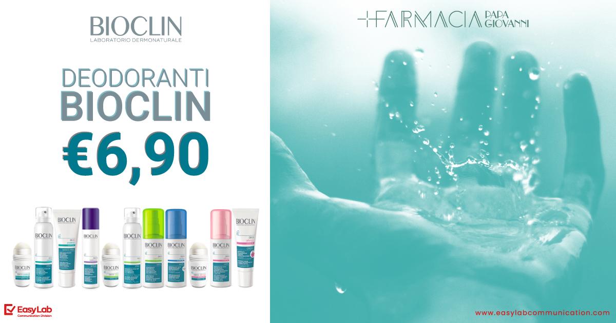 Promo Deodoranti Bioclin