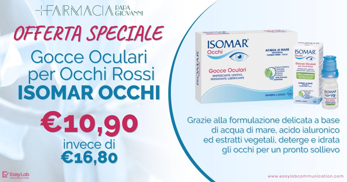 Promo Isomar Occhi